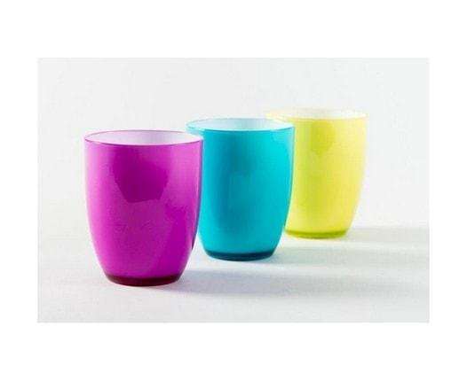 כוס פלסטיק צבעונית דופן כפולה - הום סנטר
