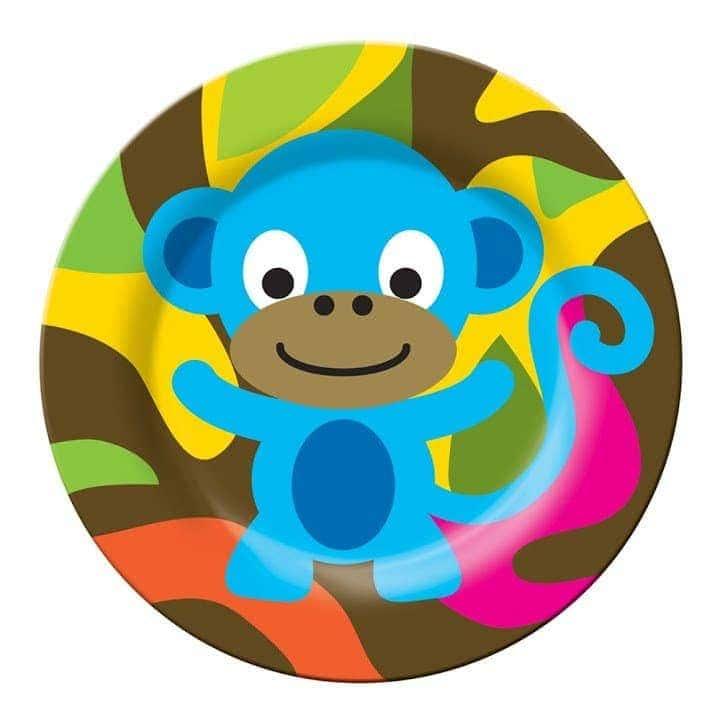 צלחת קוף Jungle - סוהו