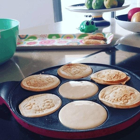 תמונה מתוך האינסטגרם שלי - מתכון פנקייק גבינה מושלם לקטנטנים