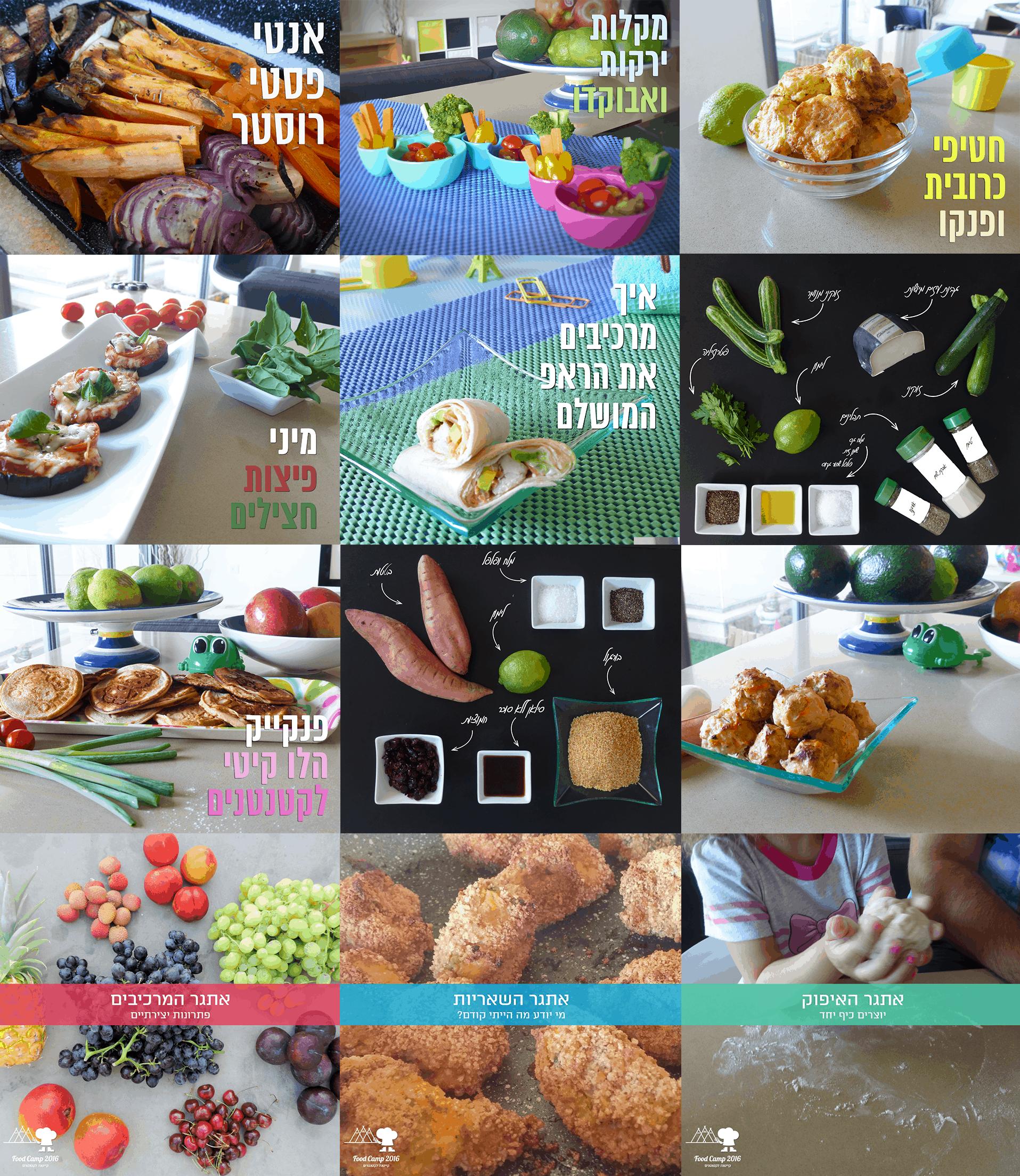 סיכום פעילות הקיץ FoodCamp2016