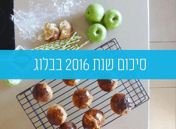 סיכום שנת 2016 בבלוג