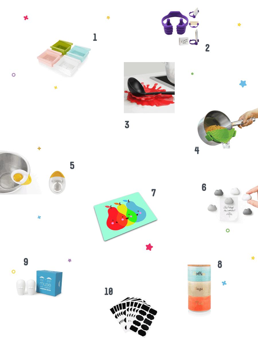 גאדג'טים קטנים וחכמים למטבח - כל הרשימה יחד