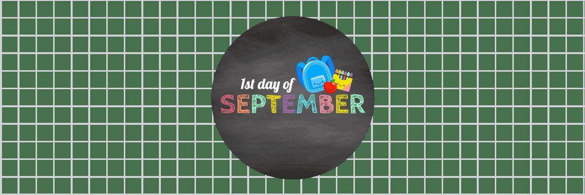 הראשון לספטמבר - חוזרים ללימודים