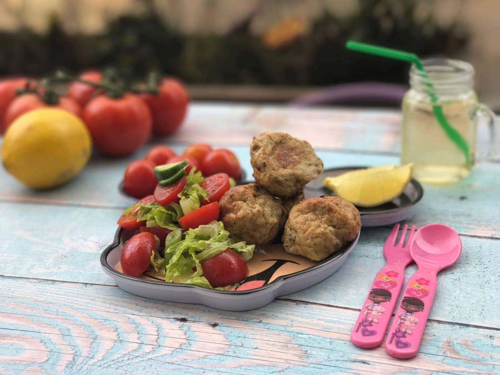 מיני-קציצות עוף ופטריות טעימות בטירוף | צילום: דביר גולן