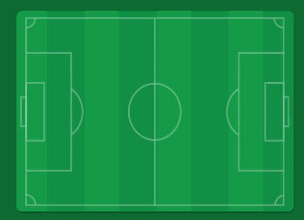 פלייסמט טבלת לוח הכפל - כדורגל