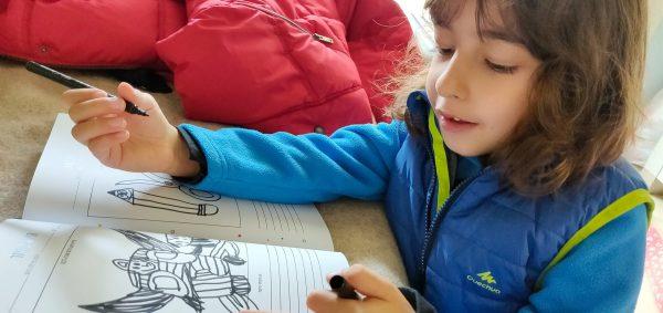 יומן הטיול שלי לילדים - מציירים בחדר המלון