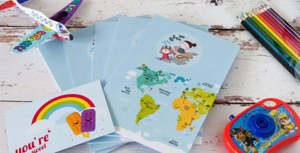 """מארז משפחתי 5 יומני הטיול שלי לילדים - מטיילים בחו""""ל"""