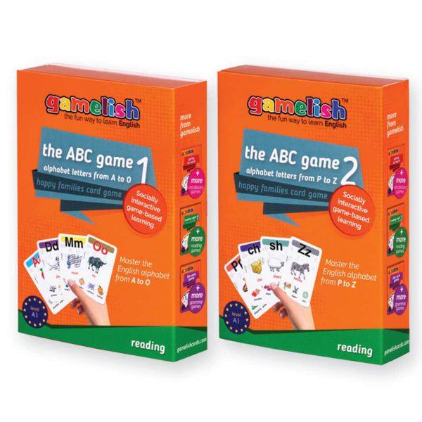קוראים באותיות - the ABC game