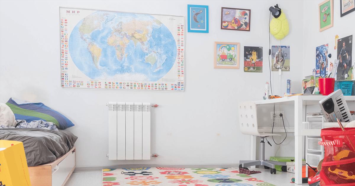 12 טיפים מצוינים שישאירו את רצפת חדר הילדים מסודרת