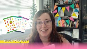 Studio Vlog 009 - המדבקות הראשונות שלי בדרך!